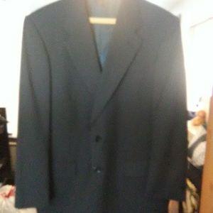 Burberry navy blue sport jacket